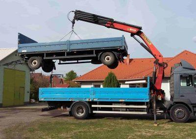 Darus autó teherfuvarozás Kecskeméten